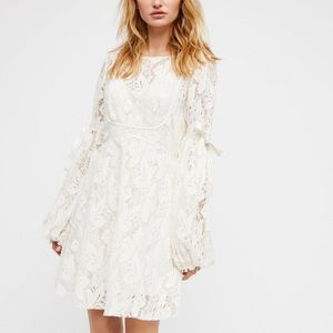 ✨ Free People Ruby Cream Mini Dress ✨